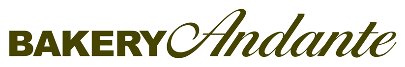 Bakery Andante, Award winning artisan bakery, Edinburgh, Scotland Logo