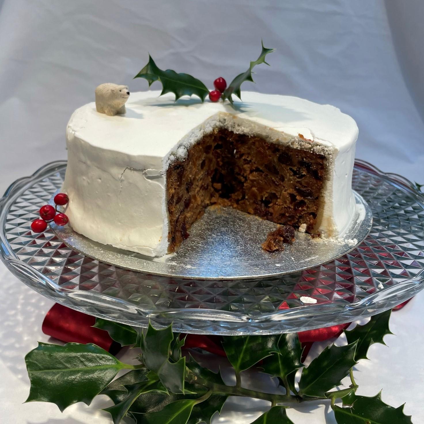 Bakery Andante Christmas Cake